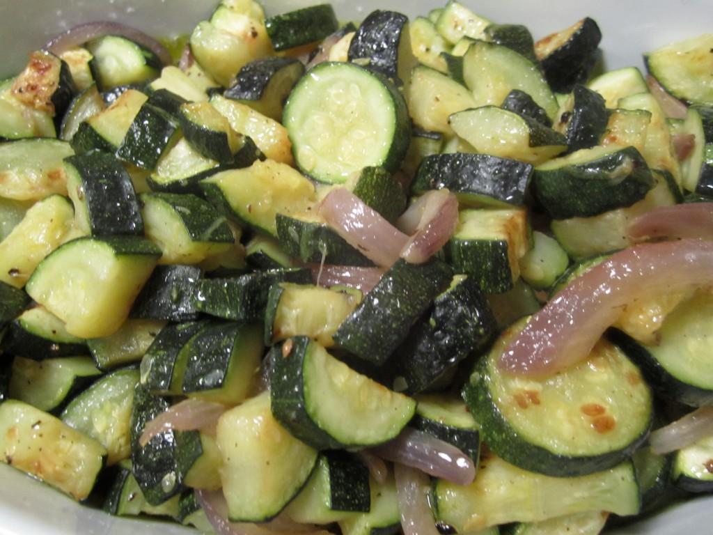 Sauteed Zucchini and Onions | italianatedotcom