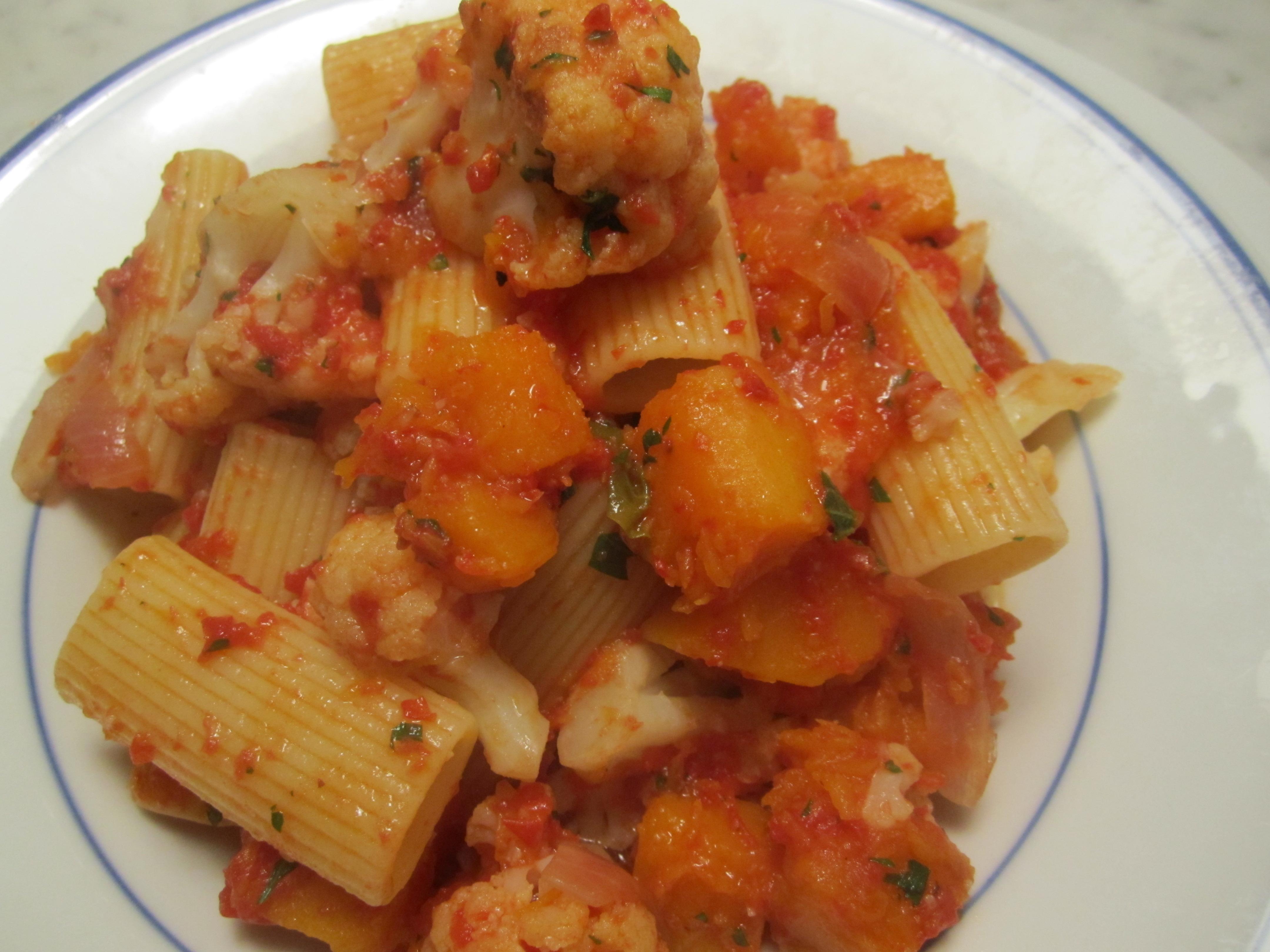 Cauliflower And Tofu Lasagna With Butternut Squash Sauce Recipes ...