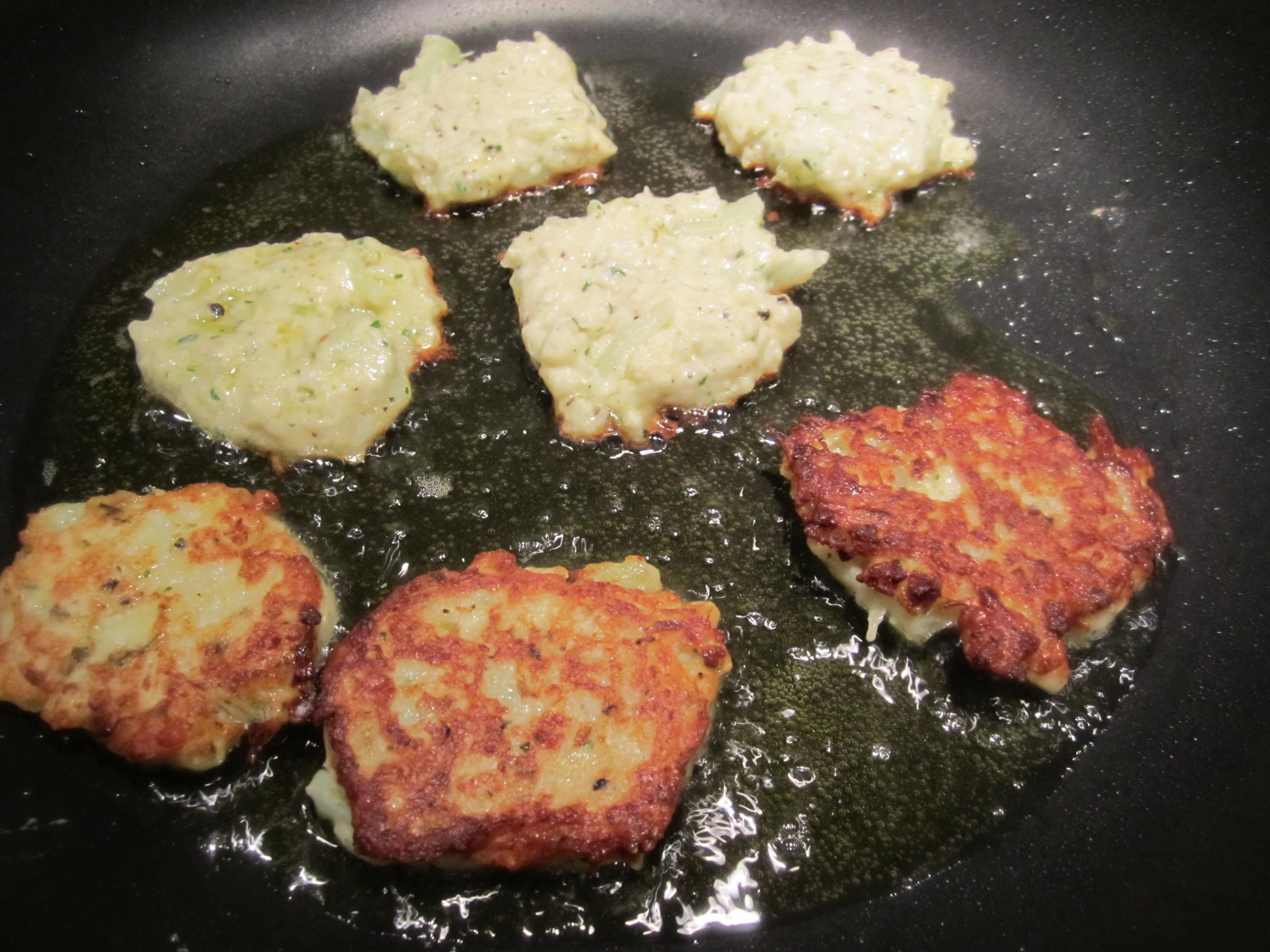 Mom's Cauliflower Fritters   italianatedotcom